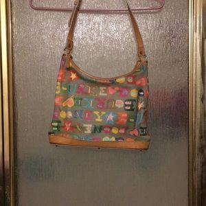 Cotton coated Dooney and Bourke handbag